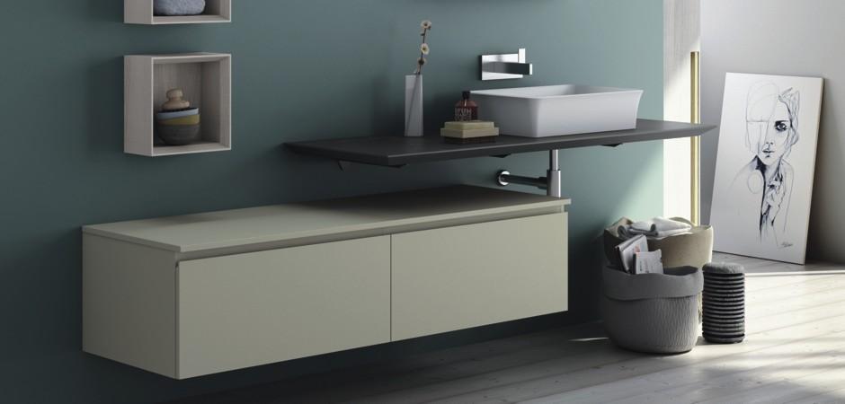 PURO - Design-Waschtischplatten für Auflagewaschtische