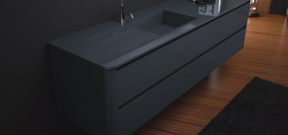 waschtische mit ablage bad direkt. Black Bedroom Furniture Sets. Home Design Ideas
