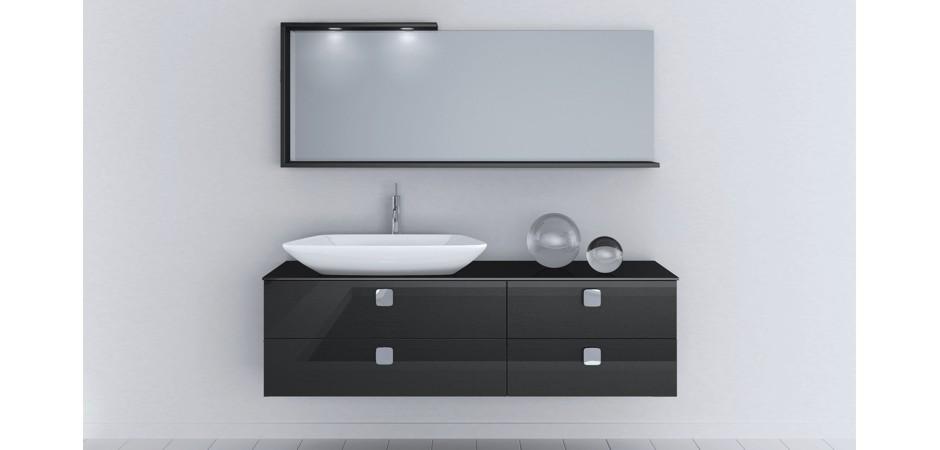 aufsatzwaschbecken mit einer waschtischplatte auf ma bad direkt. Black Bedroom Furniture Sets. Home Design Ideas