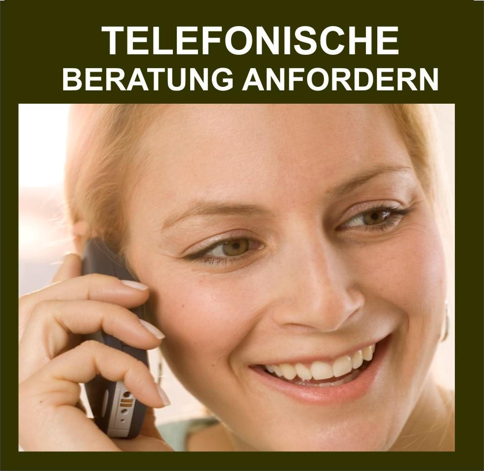 Telefonische Beratung anfordern