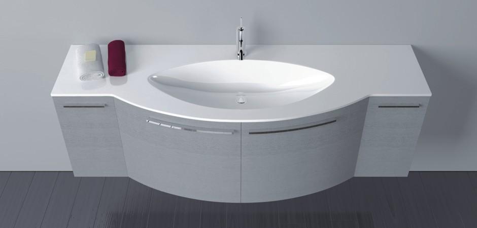 Extrem Graue Badmöbel und Waschtische auch auf Maß | Bad-Direkt LW47