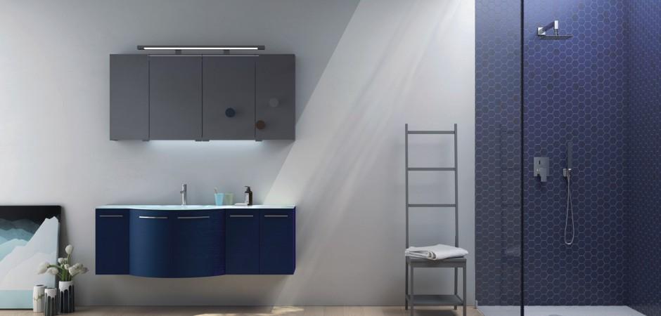 Badmöbel blau  Blaue Badmöbel und blaue Waschtische | Bad-Direkt