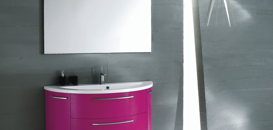 Badezimmer Altrosa