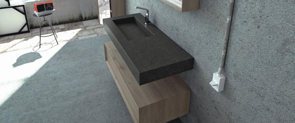 Exklusive Waschtische Bad fugenlose neolith waschtische auf maß bad direkt
