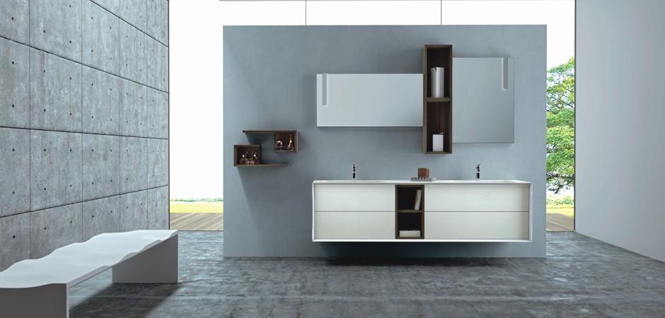 Badezimmermöbel doppelwaschbecken  Doppelwaschbecken auf Maß und Doppelwaschtische | Bad-Direkt