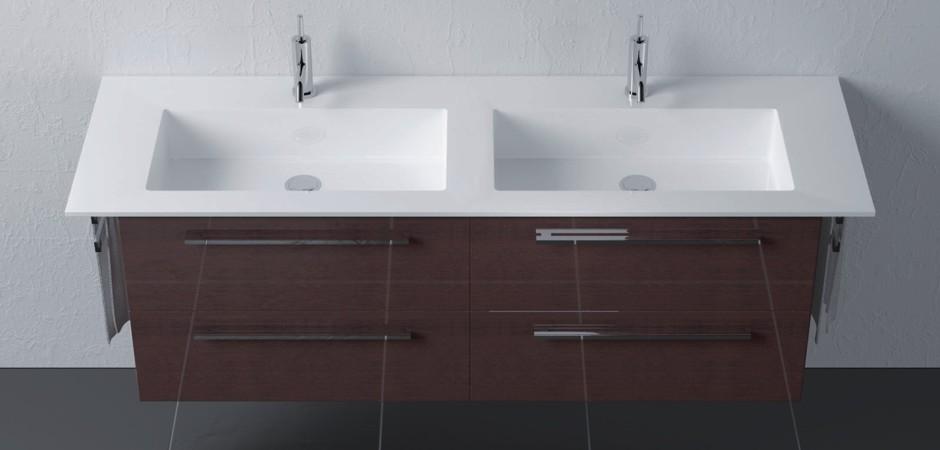 Doppelwaschbecken keramik  Doppelwaschbecken | Doppelwaschtische | Bad-Direkt
