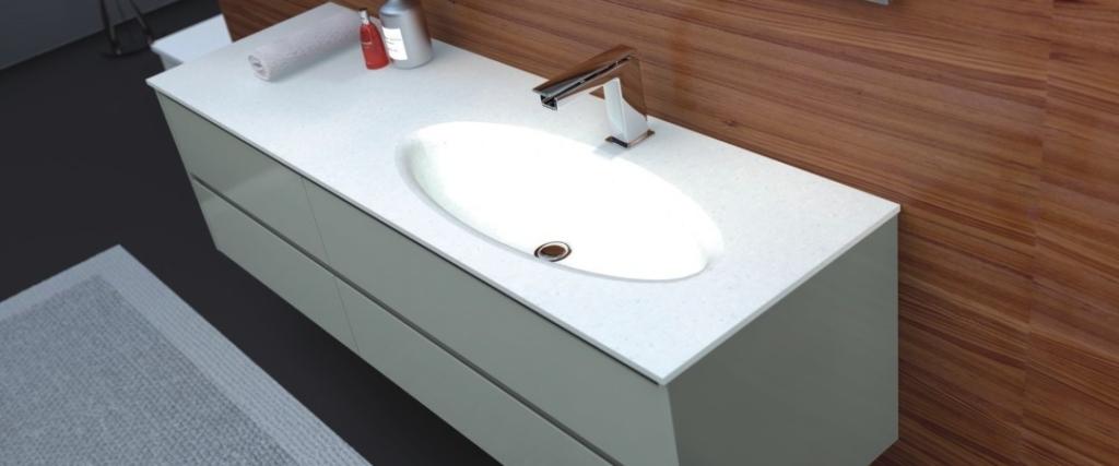 Corian Waschbecken fugenlose corian waschtische auf maß bad direkt