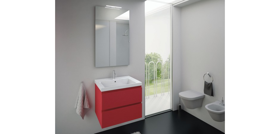 waschtisch mit unterschrank 60 cm t ren oder schubladen. Black Bedroom Furniture Sets. Home Design Ideas
