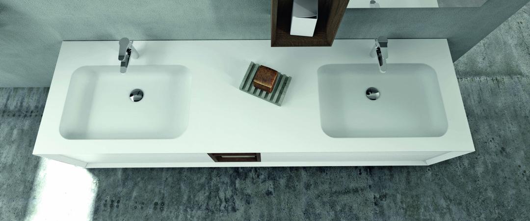 Doppelwaschbecken glas  Doppelwaschbecken | Doppelwaschtische | Bad-Direkt