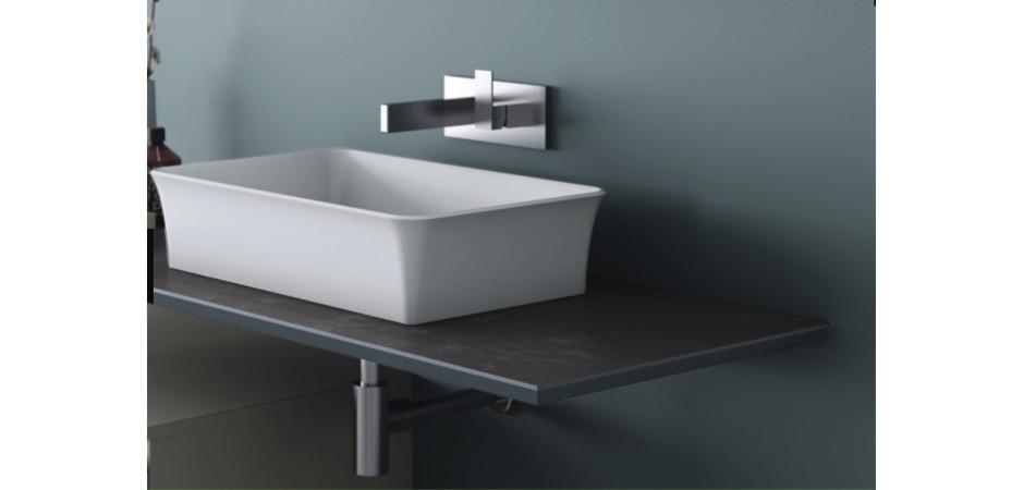 PURO Ossido Grigio Design-Waschtischplatten