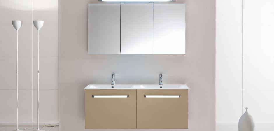 Doppelwaschbecken auf Maß und Doppelwaschtische | Bad-Direkt