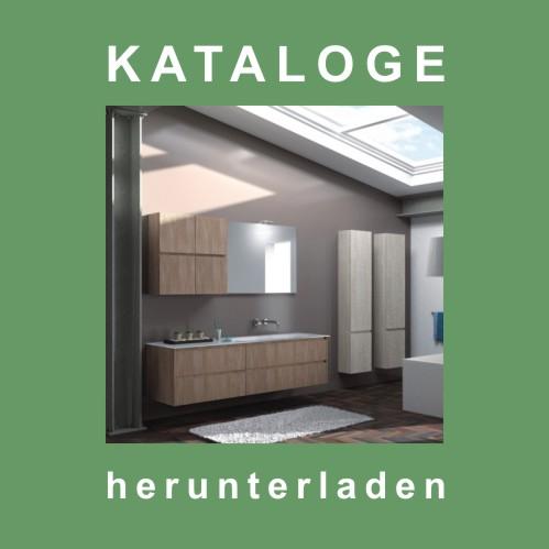 Button Badmöbel-Kataloge herunterladen.