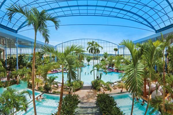 Panoramaansicht Palmenparadies Sinsheim