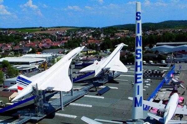 Technik Museum Sinsheim Concorde und Tu 144